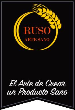 Logotipo panadería Ruso artesano Guardamar del Segura Alicante